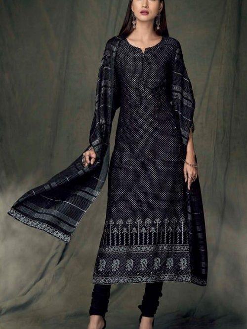 Ganga-Presents-Bidri-Pure-Kasuri-Silk-Printed-Salwar-Suit-Collection-8429