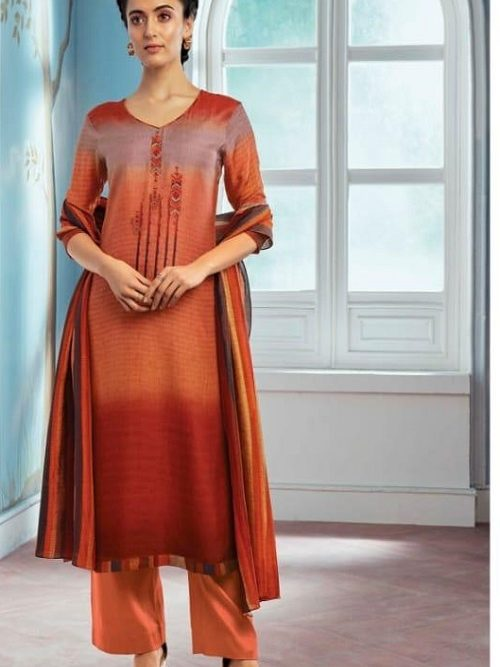 Ganga-Wing-of-a-Cloud-Pure-Bemberg-Silk-Printed-With-Extra-Sleeves-And-Embroidery-Work-Salwar-Suit-c0046