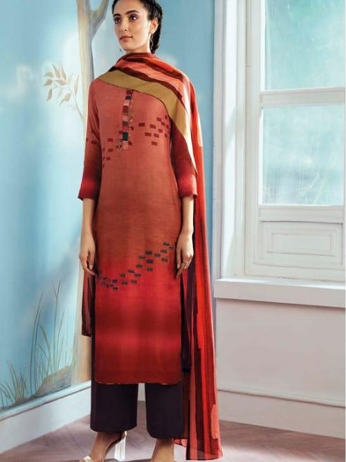 Ganga-Wing-of-a-Cloud-Pure-Bemberg-Silk-Printed-With-Extra-Sleeves-And-Embroidery-Work-Salwar-Suit-c0047