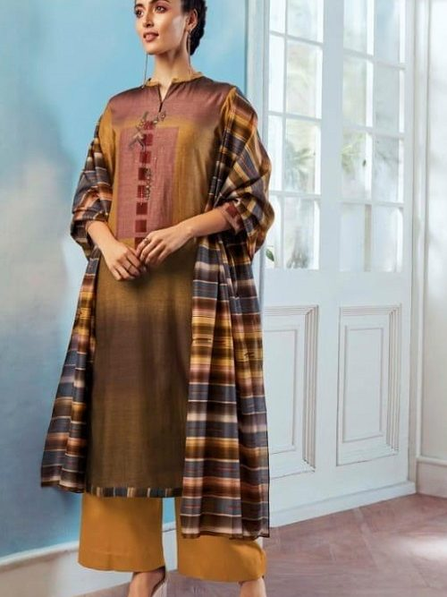Ganga-Wing-of-a-Cloud-Pure-Bemberg-Silk-Printed-With-Extra-Sleeves-And-Embroidery-Work-Salwar-Suit-c0054