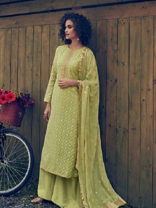 Varsha-Fashion-Maithili-Banarasi-Weave-Self-Fabric-With-Lining-and-Embroidery-Salwar-suit-MH-41