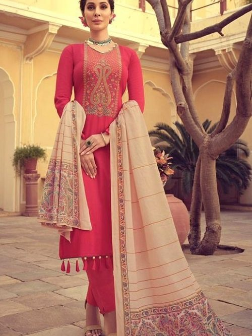 Mumtaz-Arts-Presents-Saanjh-Pure-Jam-Satin-Digital-Print-With-Kashmiri-Embroidery-Salwar-Suit-3002