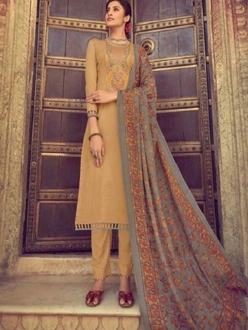 Mumtaz-Arts-Presents-Saanjh-Pure-Jam-Satin-Digital-Print-With-Kashmiri-Embroidery-Salwar-Suit-3006