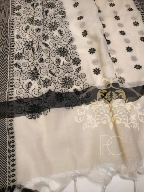 khaadi cotton embroidered salwar suit