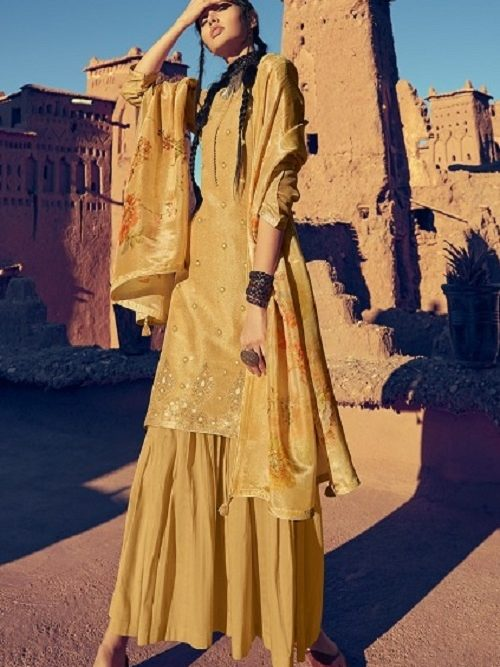 Buy-Varsha-Fashions-The-Golden-Threads-Gold-Tissue-with-Banarsi-weave-Designer-Ladies-Suits-GT-22