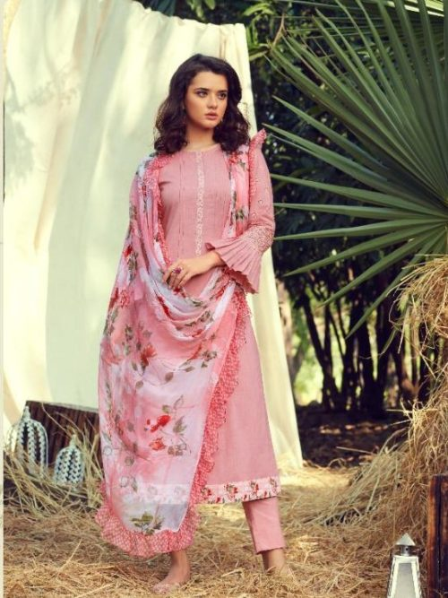 Sahiba Itrana Mystical Pure Cotton With Emroidery Suit D.No 188