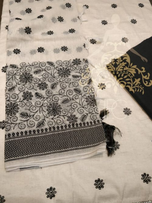 Khaadi Cotton Full Embroidered Suit - Non Catalog Suit