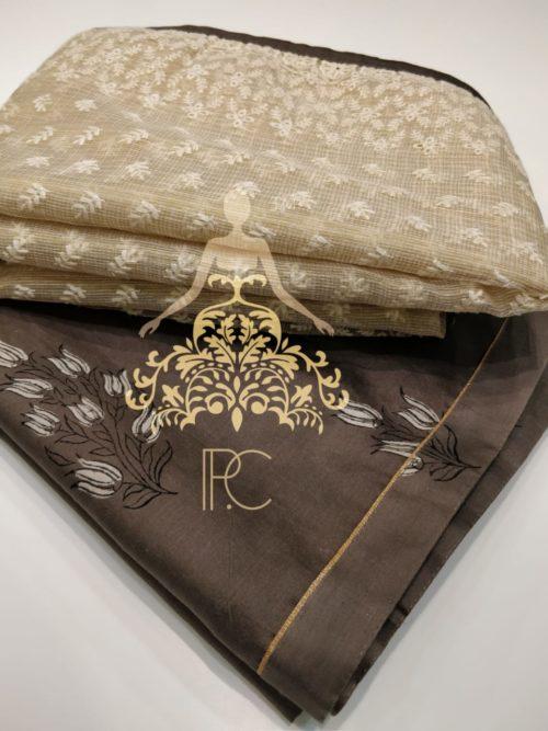 Printed Muzlin Silk Salwar Suit