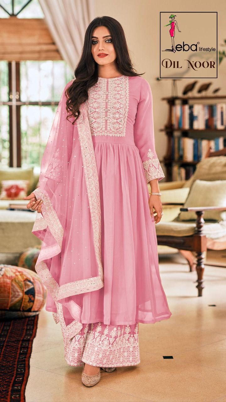 Eba Dil Noor - Fully Stitched